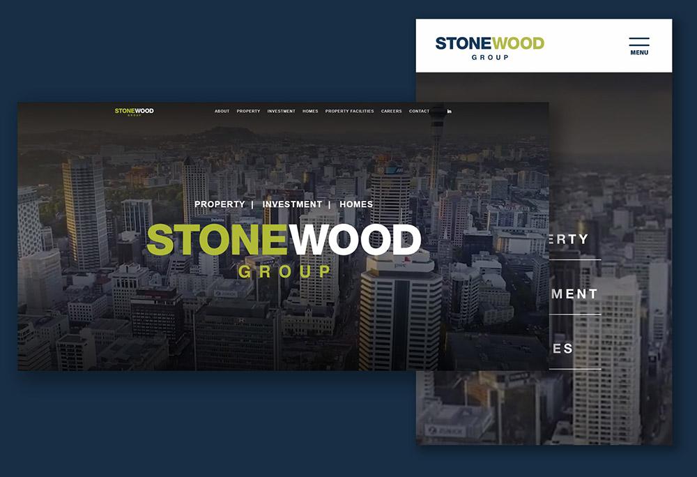 Stonewood Group Website design